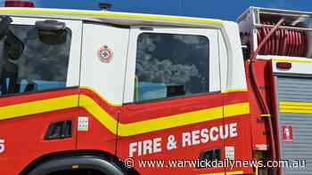 Car goes up in flames at unit block - Warwick Daily News