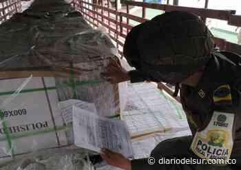 En Arauca aprehendieron más de 1.800 m2 de porcelanato procedentes de China [VIDEO] - Diario del Sur