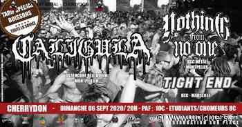 Caligula / Nothing From No One / Tight End Cherrydon La Penne-sur-Huveaune - Unidivers
