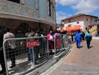 Autoridades municipales cierran la Basílica de El Cisne en Loja por aglomeraciones - El Universo