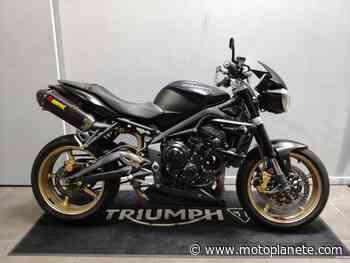 Triumph STREET TRIPLE 675 R 2012 à 5990€ sur MONTLHERY - Occasion - Motoplanete