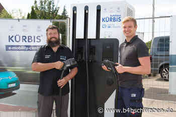 LEW hat neue Ladestation für E-Autos in Betrieb genommen - Aichach-Friedberg - B4B Schwaben