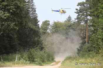 Hubschrauber-Einsatz in Welzheim: Warum der Wald gekalkt wird und was Spaziergänger beachten müssen - Welzheim - Zeitungsverlag Waiblingen