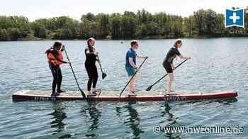 Inklusion in Wilhelmshaven: Wiki-Haus Hooksiel trainiert SUP für Special Olympics in Berlin - Nordwest-Zeitung