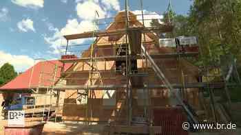 Wohntraum in Schwarzenbruck: Neues Fachwerkhaus nach alter Art - BR24