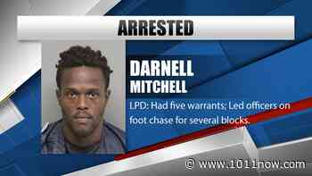 Man wanted on five warrants gives Lincoln Police a chase - KOLN