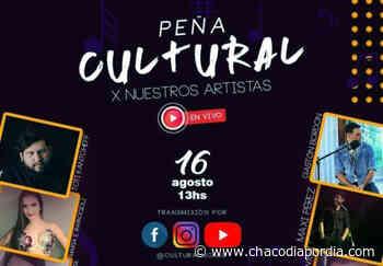 UNCAus invita a participar de la Peña Cultural por nuestros artistas - Chaco Dia Por Dia