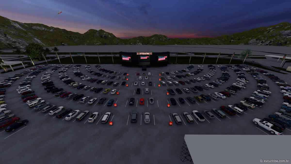 Maior drive-in do Brasil, no Expotrade Pinhais, será inaugurado nesta semana com ingressos a partir de R$ 50 - XV Curitiba