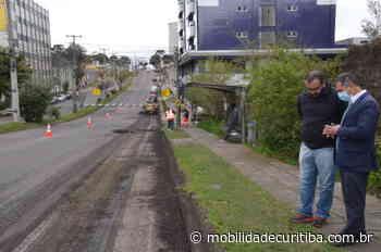Prefeitura de São José dos Pinhais inicia obras de melhoria na Avenida Rui Barbosa - Mobilidade Curitiba