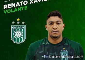 Mais reforço: Gama acerta com volante Renato Xavier, ex-Jaragua - Distrito do Esporte