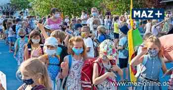 Schulstart in Neuruppin unter Corona-Bedingungen - Märkische Allgemeine Zeitung