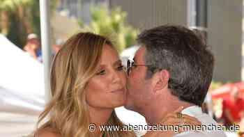 Auch Sofía Vergara meldet sich - Heidi Klum wünscht Simon Cowell eine schnelle Genesung - Abendzeitung