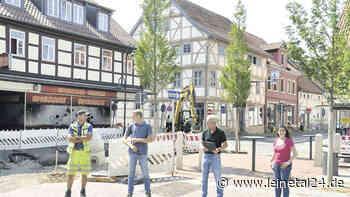 Erster Abschnitt der Hauptstraße wird Donnerstagfrüh freigegeben - leinetal24.de