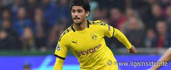 Borussia Dortmund: Mahmoud Dahoud trainiert wieder mit - LigaInsider
