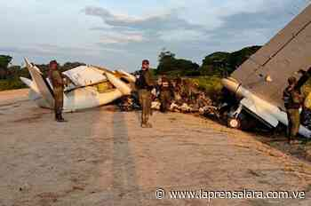Neutralizan aeronave vinculada con el narcotráfico en el Zulia - La Prensa de Lara
