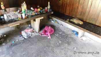 Vandalismus Gaildorf: Spielplatz und Brunnen werden verwüstet - SWP