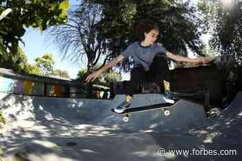 Team USA Teen Minna Stess Takes On Gender Gatekeeping In Skateboarding And Gaming - Forbes