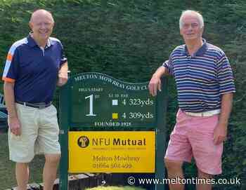 Seniors pair do their bit for home pride at Melton Mowbray Golf - Melton Times
