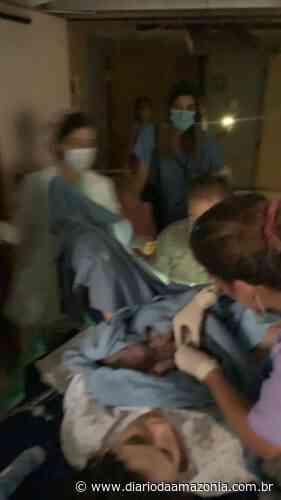 Vídeo impressionante mostra mulher dando a luz em meio à explosão de Beirute - Diário da Amazônia