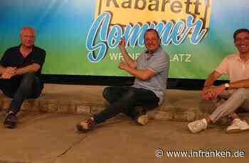 Volkacher Kabarett Sommer: Positive Halbzeitbilanz