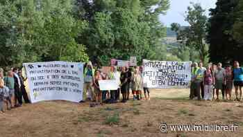 Millau : un pique-nique pour contester la privatisation de l'aire de la Dourbie - Midi Libre