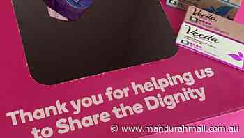 Share the Dignity launch a COVID cash appeal - Mandurah Mail