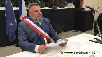 Sébastien Messent, nouveau maire de Wingles, officiellement installé - La Voix du Nord