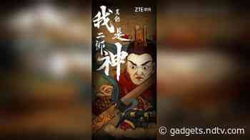 ZTE A20 5G May Come With Under-Screen Camera, ZTE President Ni Fei Teases