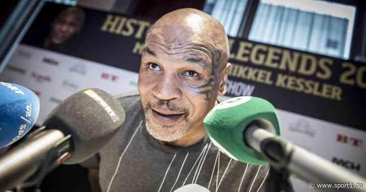 Boxen: Mike Tyson verschiebt Comeback-Kampf auf November - SPORT1