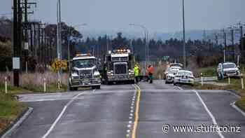 Two die in Palmerston North collision between truck and car - Stuff.co.nz