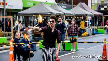 Palmerston North has a blast at block party celebrating The Square upgrade - Stuff.co.nz