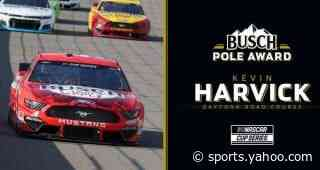 Kevin Harvick nabs Busch Pole Award for Daytona Road Course debut