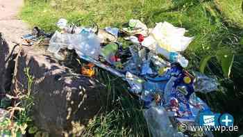 Müll am Skatepark Brilon – Wieso gibt es keine Mülltonnen? - Westfalenpost