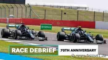 70 Jahre F1-GP: Mercedes erklärt Reifensituation