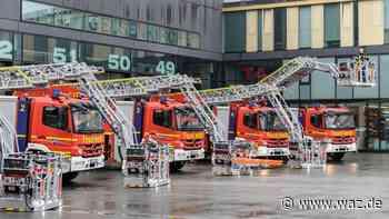 Brand: Feuerwehr Gelsenkirchen löscht brennende Dachwohnung - WAZ News