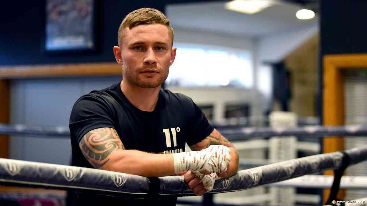 Frampton insists WBO title is within reach