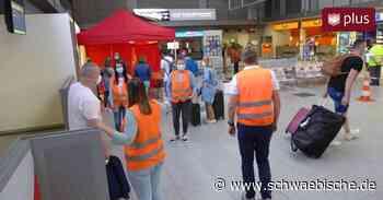 Sechs Corona-Fälle durch Flughafen-Tests in Friedrichshafen entdeckt - Schwäbische