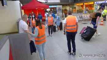 Corona-Tests am Bodensee-Airport in Friedrichshafen bewähren sich   Friedrichshafen   SWR Aktuell Baden-Württemberg   SWR Aktuell - SWR