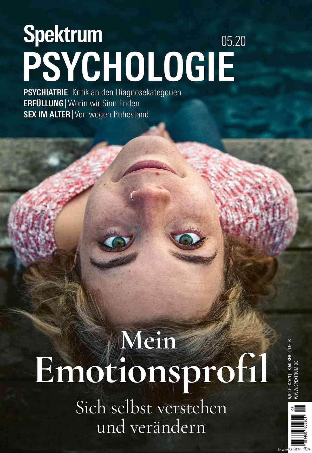 Emotionen - Spektrum Psychologie 5/2020 - Spektrum der Wissenschaft
