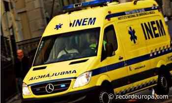 Trabalhador ferido em obra em Espinho - Record TV Europa