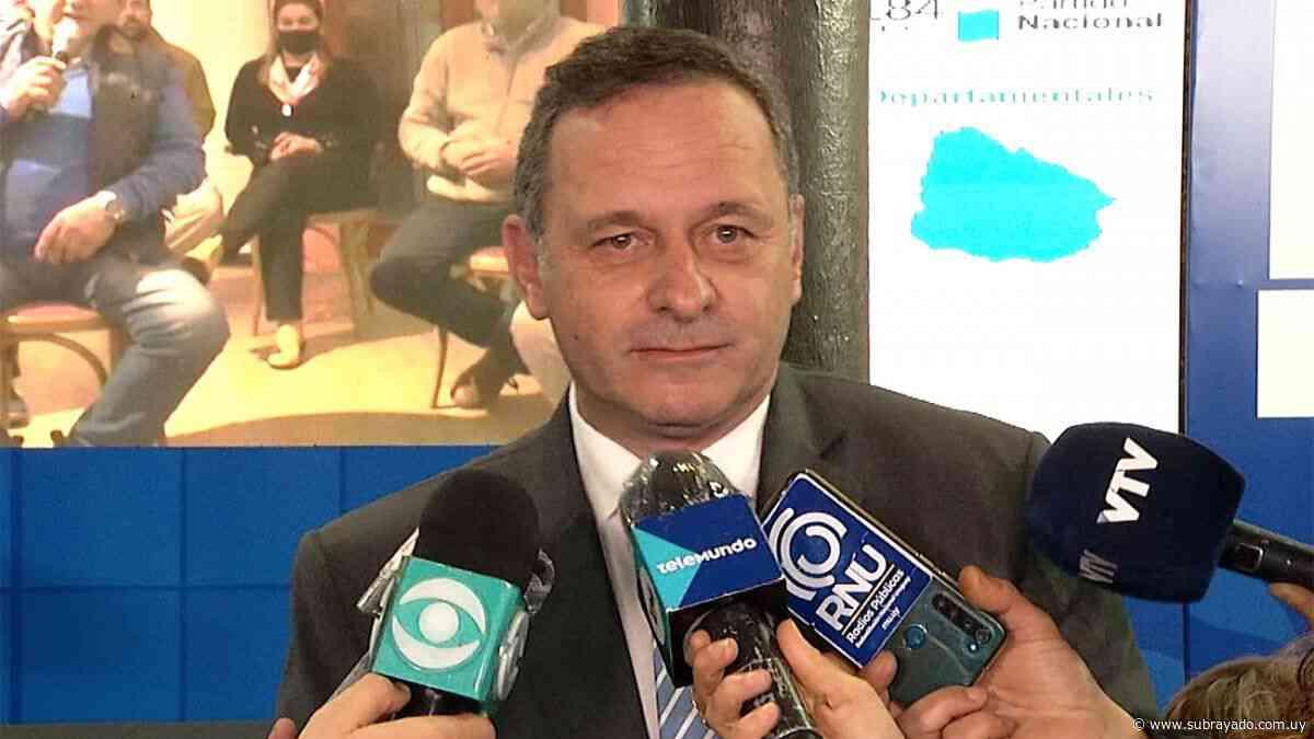 Álvaro Delgado: el Presupuesto será justo, muy austero y acorde a la realidad - Subrayado.com.uy