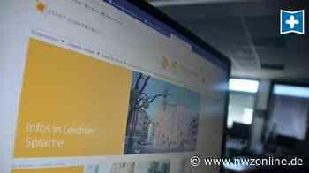 Interview: Internetseite der Stadt Oldenburg in leichter Sprache - Nordwest-Zeitung
