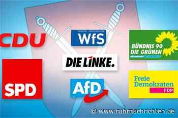 Wer möchte was für Schwerte? Parteien stellen sich der RN-Podiumsdiskussion - Ruhr Nachrichten