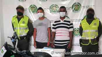 Caen dos presuntos expendedores de drogas en Cerro de San Antonio - El Informador - Santa Marta