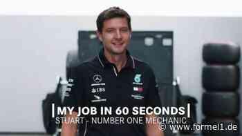 Mein Job in 60 Sekunden - Mercedes-Chefmechaniker