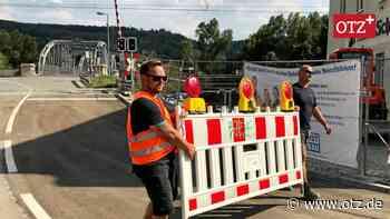 Bahnübergang in Dorndorf-Steudnitz ist wieder auf