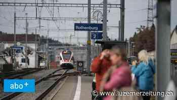 RegioExpress-Halt in Rothenburg: Emmen ist verärgert - Luzerner Zeitung