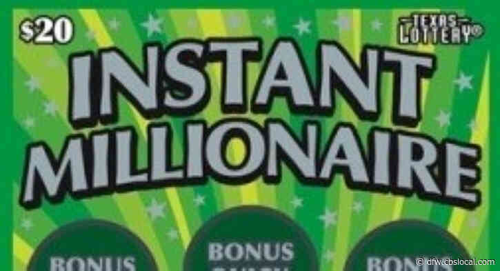 Irving Resident Joins Millionaires Club After Winning On Lottery Scratch Ticket