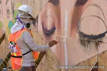 Plasman en tapiales un mensaje esperanzador - Publimetro México