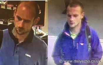 Police issue CCTV images after 'fraudulent activity' in Southampton supermarkets